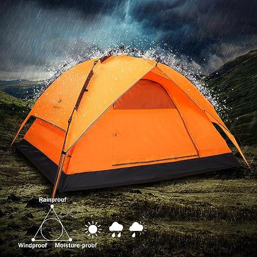 CAMEL Automatische Zelt Kuppel Zelt Baldachin Für Camping Automatische Wasserdichte 2 Person