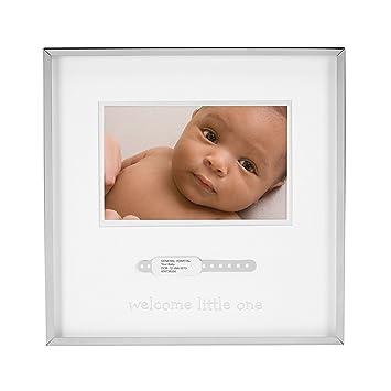Amazoncom Tiny Ideas Babys Keepsake Photo Frame Hospital Id