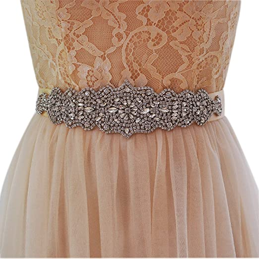 6bca83f3ae Top Queen Bridal Sashes Belt Wedding Belts Sashes Women's Diamond Crystal  for Wedding