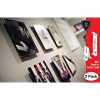 CollectorMount | ComicMount | AlbumMount Album Mount Vinyl Record Shelf Stand and Wall Mount, Invisible and Adjustable