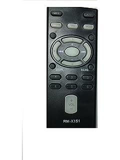 new sony replaced remote control rm-x151 rm x151 rmx151 sub rm-x153 rm