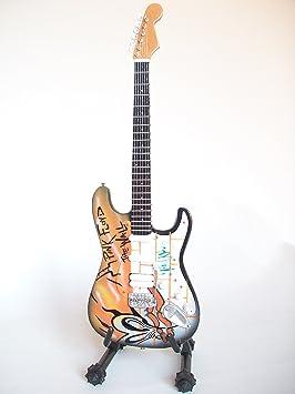 Mini guitarra de colección - Replica mini guitar - Pink Floyd - Tribute - The Wall: Amazon.es: Juguetes y juegos