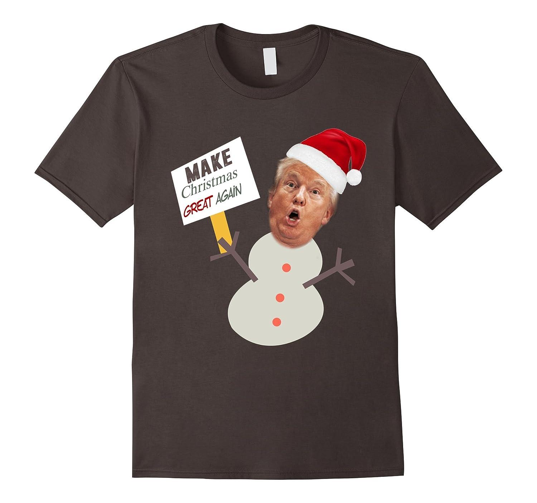 Christmas Trump Funny.Make Christmas Great Funny Trump T Shirt Td
