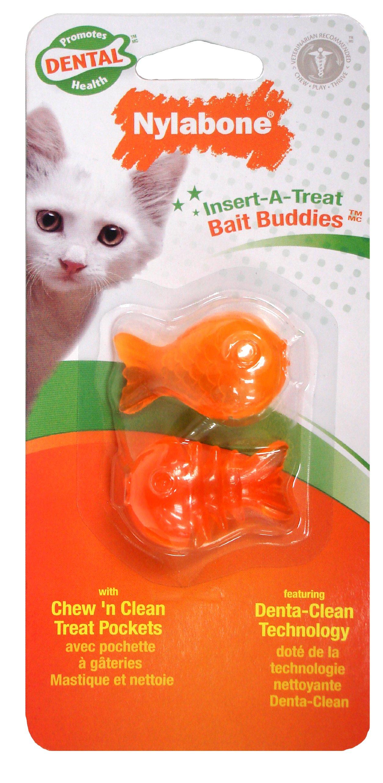 Cat Dental Insert-A-Treat Bait Buddies Treat Holder BL