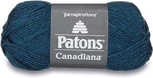 Patons Canadiana YARN, Teal Heather