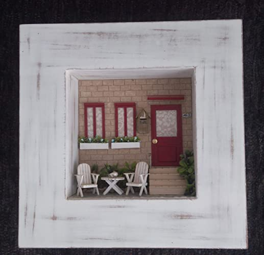 Amazon Com 3d Handmade Wood Wall Art Unique Birthday Anniversary