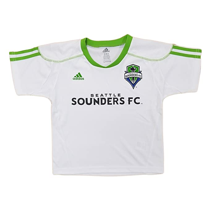 big sale 9a784 39a53 Amazon.com: Seattle Sounders FC Kids White Seconday Call Up ...
