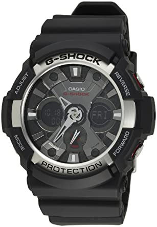 df9623adc077 Amazon.com  G Shock By Casio Ga200-1A Ana-Digi Mens Watch  Watch ...