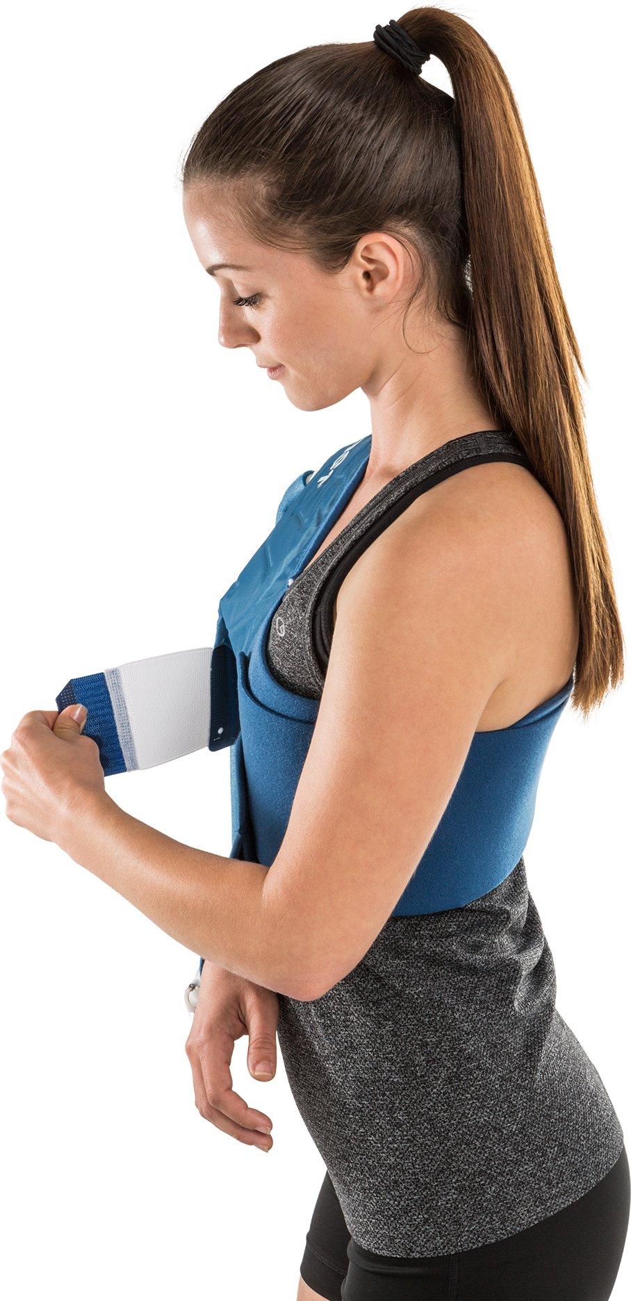 DonJoy Aircast Cryo/Cuff Cold Therapy: Shoulder Cryo/Cuff with Non-Motorized (Gravity-Fed) Cooler, X-Large by DonJoy (Image #4)