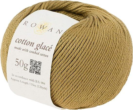 Rowan H512086-RG739 Hilo para Tejer a Mano, 100% algodón, Ocre, Talla única: Amazon.es: Hogar