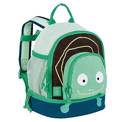 Lässig Lässig Kindergartenrucksack Kindergartentasche, Mini Backpack Wildlife Schildkröte, Blau Sac à dos enfants, 27 cm, Bleu (Blue)