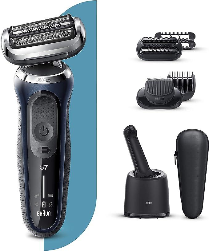 Braun Series 7 70-B7850cc Afeitadora Eléctrica, máquina de afeitar ...