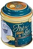 NATIVES 411550 Thé dans la lune Boîte à thé Métal Multicolore 9 x 9 x 11,5 cm