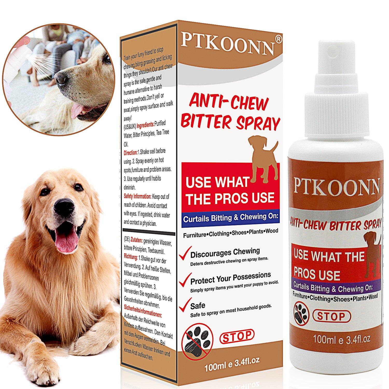 Anti Chew,Anti Chew Spray,Anti Chew Perro Spray - Detiene Destructiva para Morder-Spray Repelente para Perros y Gatos: Amazon.es: Productos para mascotas