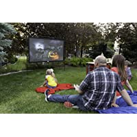 "Camp Chef Outdoor Entertainment Gear Outdoor Big Screen 92"" Lite Portable Movie Screen"