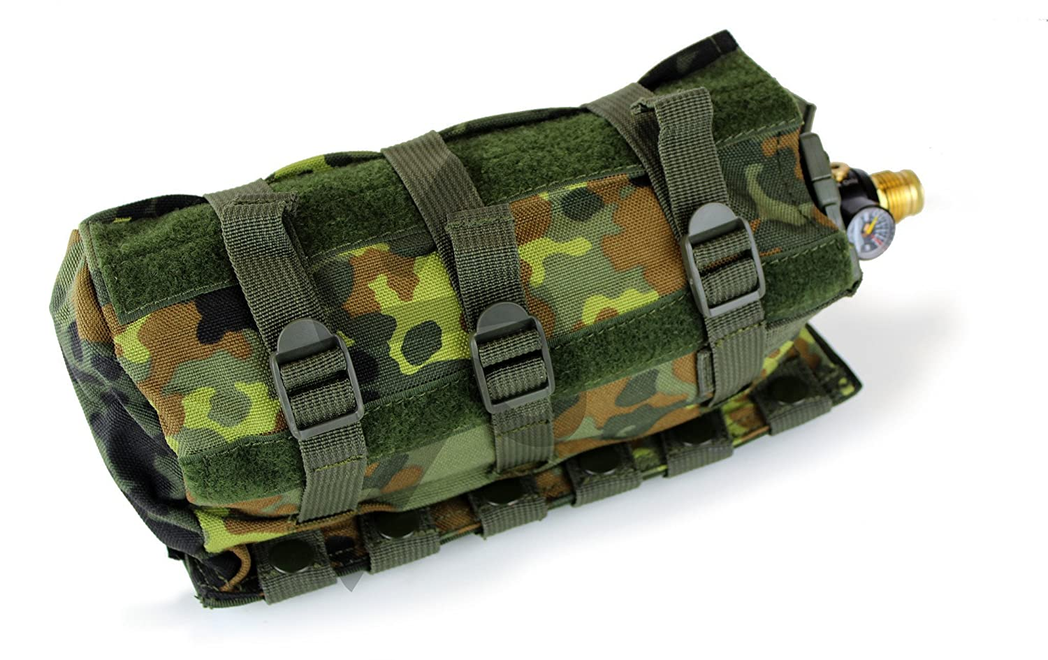 MOLLE Horizontal Universal Paintball Airsoft Air Tank Pouch Unbekannt