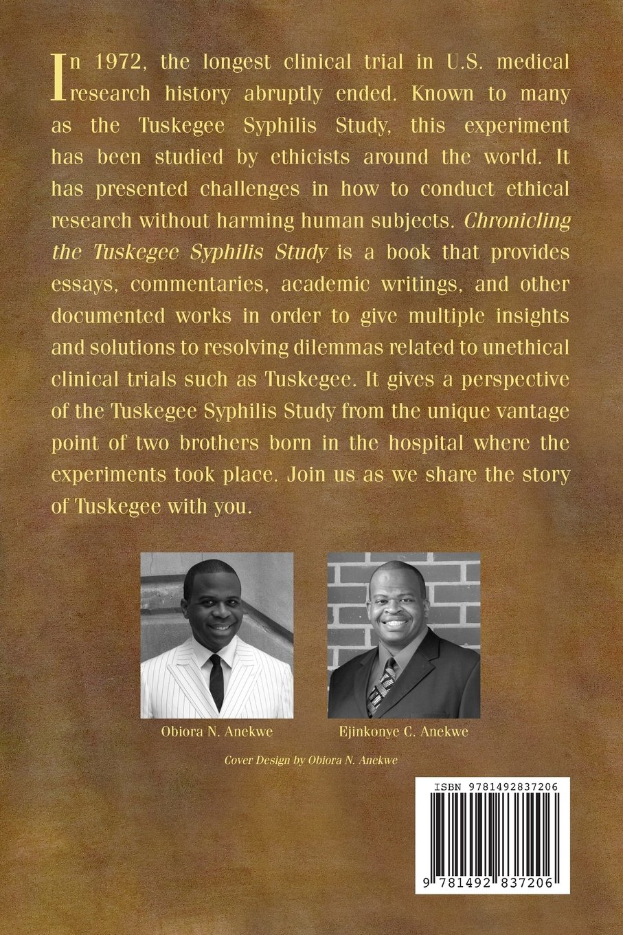 chronicling the tuskegee syphilis study essays research writings  chronicling the tuskegee syphilis study essays research writings commentaries and other documented works obiora n anekwe ed d ejinkonye c anekwe