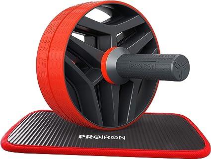 SONGMICS AB Roller Bauchtrainer AB Wheel f/ür Fitness Bauchmuskeltraining Muskelaufbau Bauchroller f/ür Frauen und M/änner