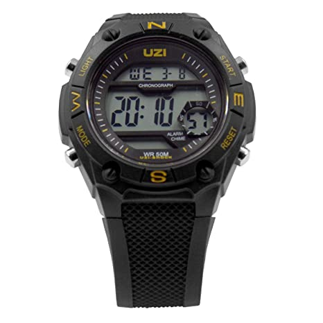 52eba3bdf Image Unavailable. Image not available for. Color  UZI Shock Digital Watch