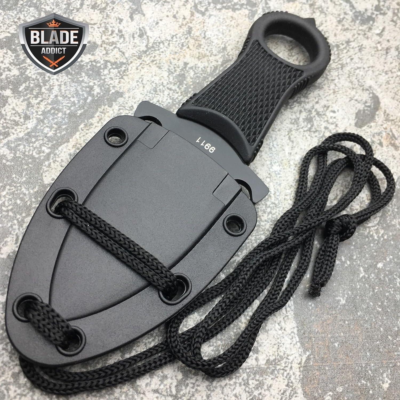 Amazon.com: NUEVO cuchillo de Xtreme Tactical Negro Full ...