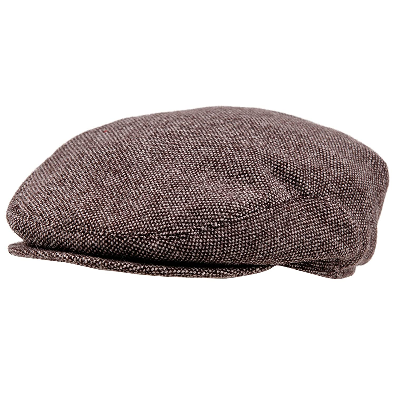 Sterkowski Wool Tweed Ivy League Flat Cap Newsboy Vintage Style MST-ALX-Wv4US 8 1/8 $P
