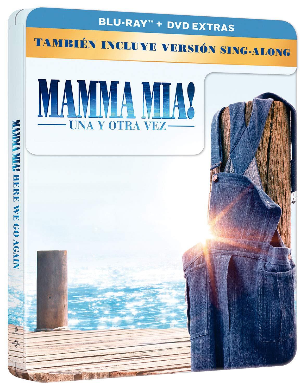 Mamma Mia! Una Y Otra Vez - Edición Limitada Metal BD + DVD Extras ...