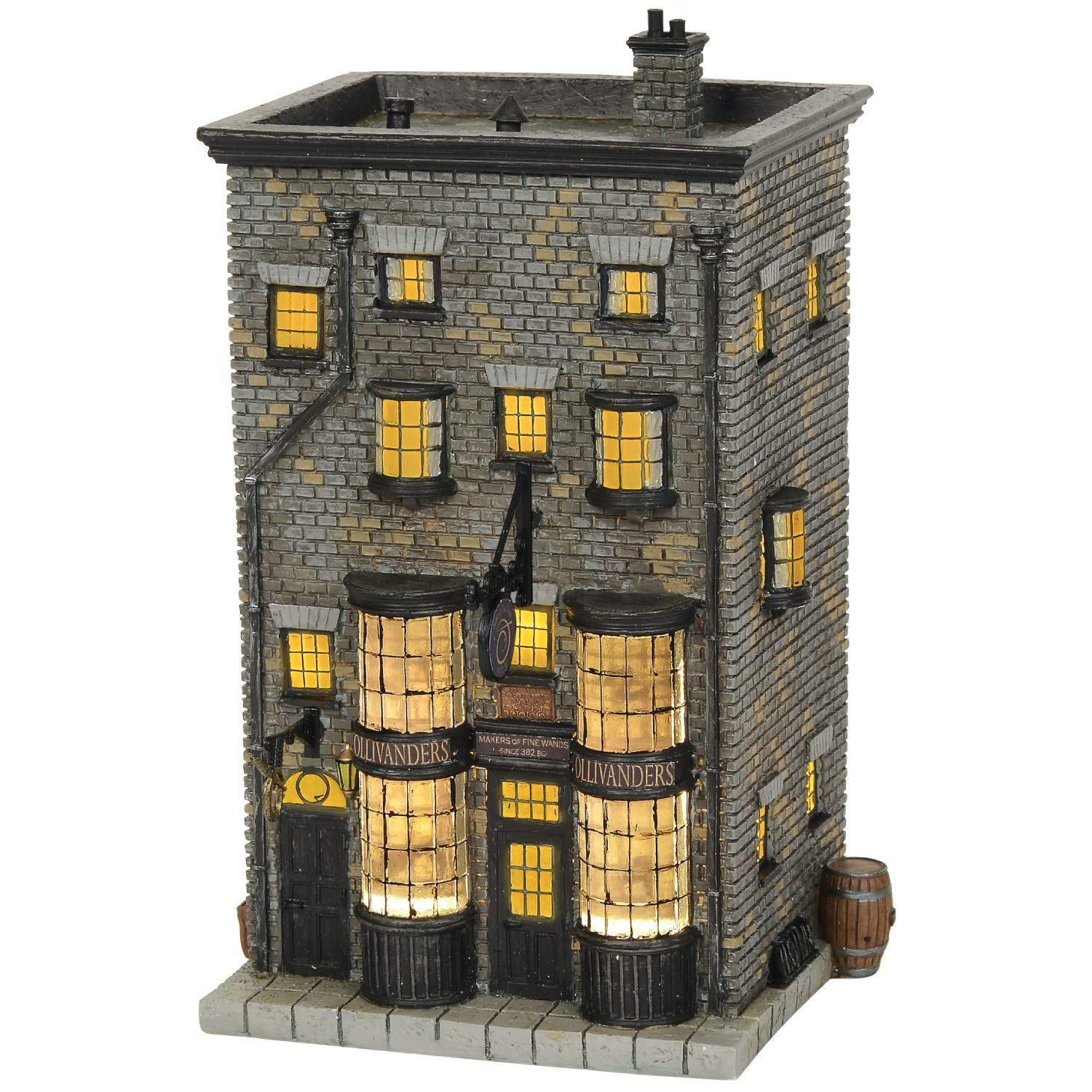 Department56 Harry Potter Village Ollivanders Wand Shop Lit Building, 7.88'', Multicolor by Department56
