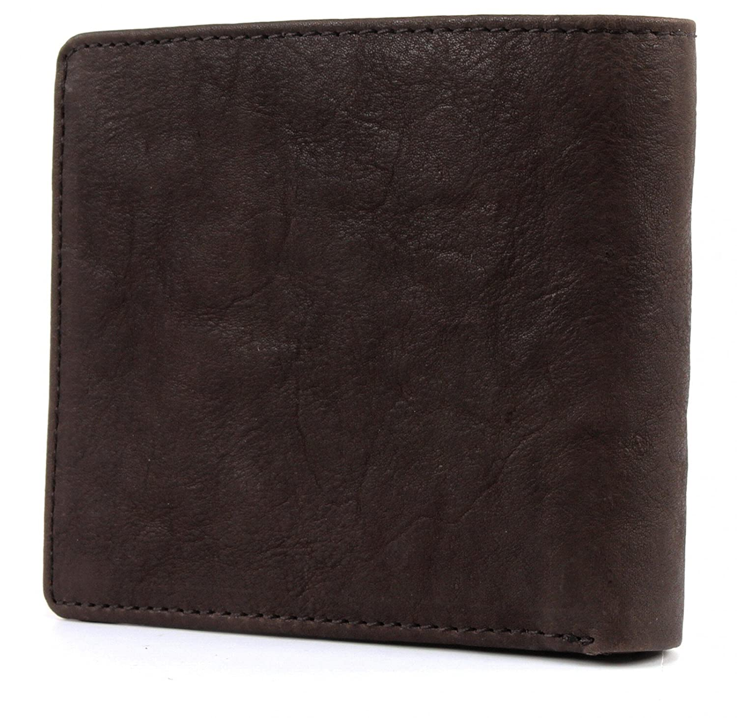 NAPAPIJRI Molde Washed Billfold 10 C/C Coinpocket Dark ...