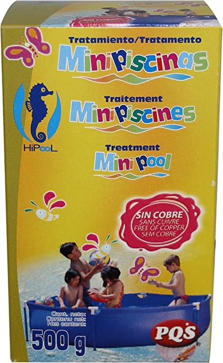 PQS - 1616027 Kit mini piscina mantenimiento 500 gr: Amazon.es: Jardín