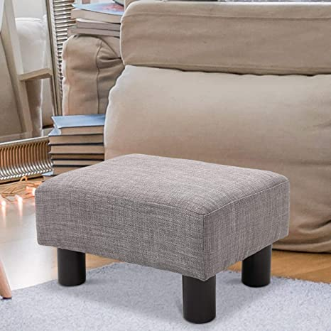 Tremendous Amazon Com Festnight Cube Ottoman Foot Stool Fabric Pouf Gmtry Best Dining Table And Chair Ideas Images Gmtryco