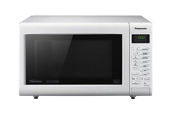 Panasonic NN-CT555WBPQ combinación de microondas, 27 litros, 1000 ...