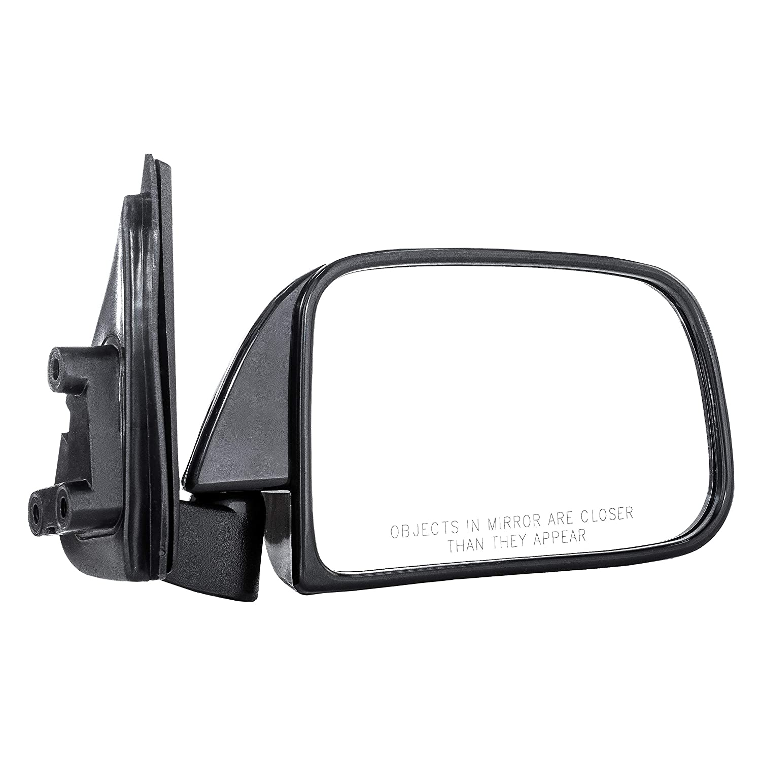 Dependable Direct Right Passenger Side Manually Operated 1989 1990 1991 1992 1993 1994 1995 TO1321112 Single Glass Paint to Match Mirror for Toyota Pickup