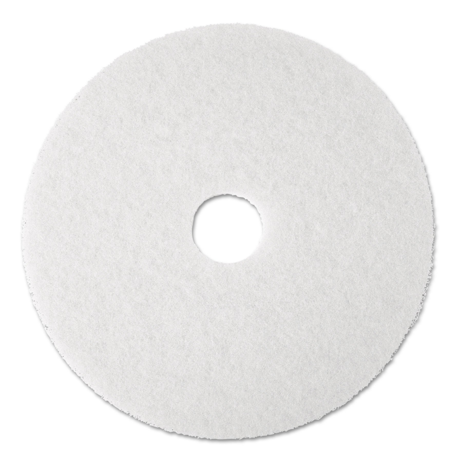 Premiere Pads PAD 4019 WHI Floor Polishing Pad, 19'' Diameter, White (Case of 5)