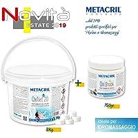 Metacril Juego de oxígeno Pastillas 20 g 3
