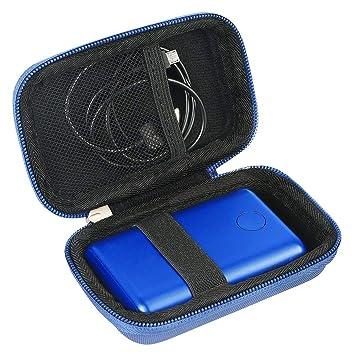 Khanka para Anker 10000 EVA Duro Viaje Estuche Bolso Funda (Azul)