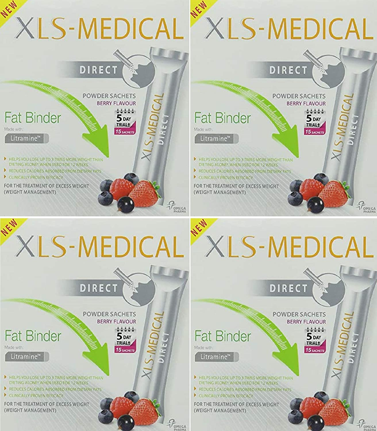 XLS-Medical Pack of 30 Fat Binder Weight Loss Tablets Expiry