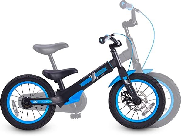 smarTrike Xtend 3-in-1 Convertible Kids Bike, Balance to Pedal Training Bicycle for 3-7 Years
