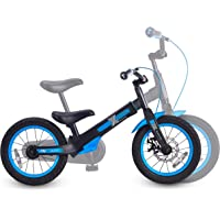 smarTrike Xtend Mg+ Balance to Pedal Bike, Black/Blue (2060300)