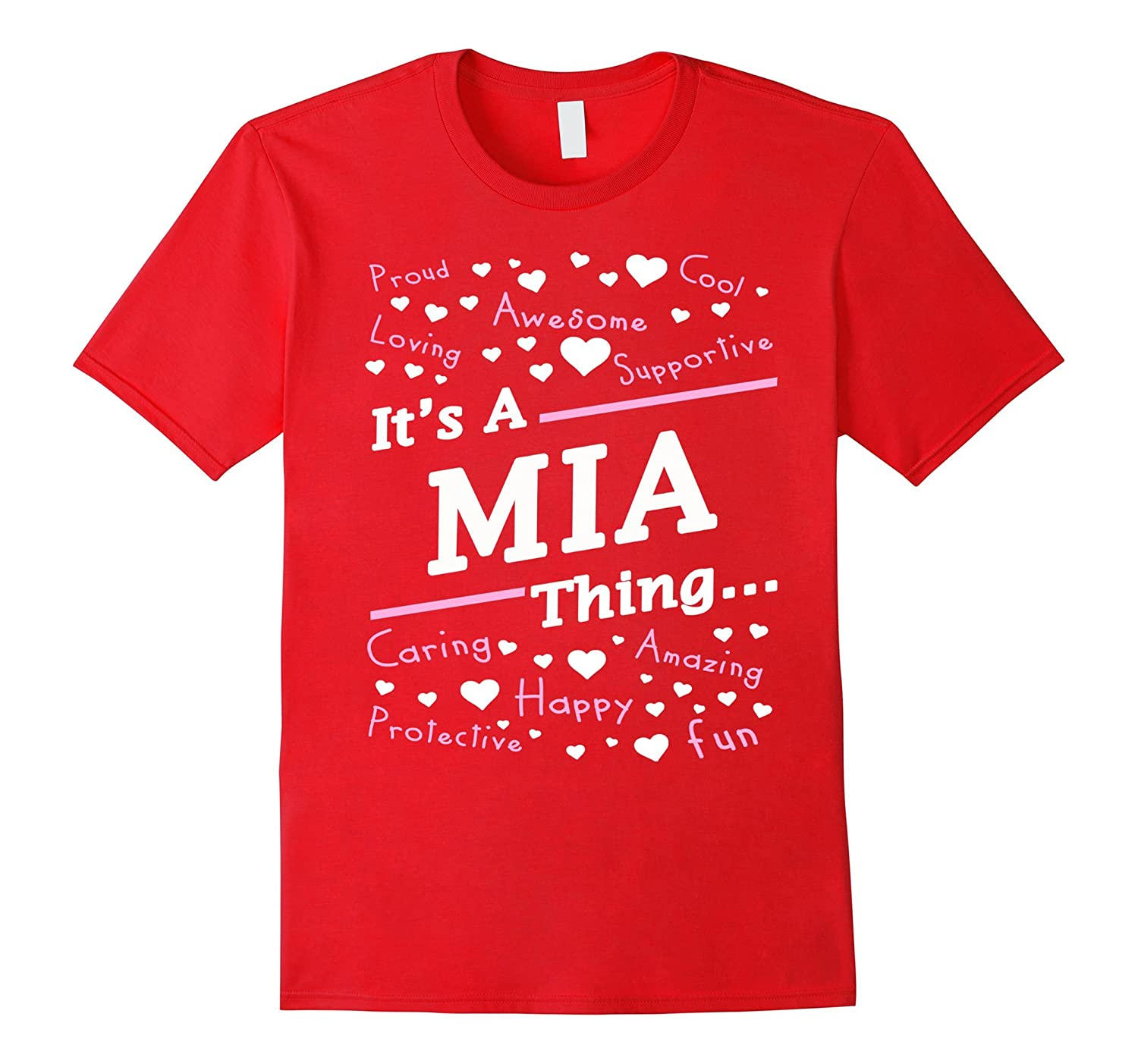 Its A Mia Thing T-Shirt Mia Gifts for Girl Women-Vaci