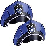 Niños Cumpleaños Police/Policía Sombreros de fiesta