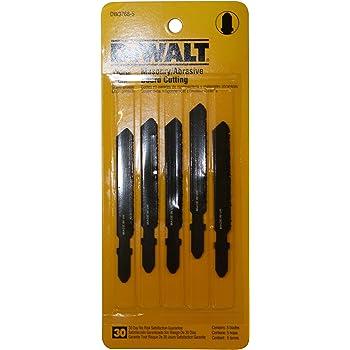 Dewalt Dw3768 5 3 Inch Masonry Board Cut Cobalt Steel T