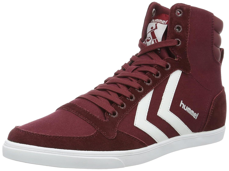 Hummel SLIMMER STADIL HIGH, Unisex-Erwachsene Hohe Sneakers, Grau (Castle Rock/White KH), 40 EU (6.5 Erwachsene UK)