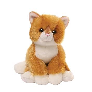 Amazon Com Gund Miles Tabby Cat Stuffed Animal Plush 9 Toys Games