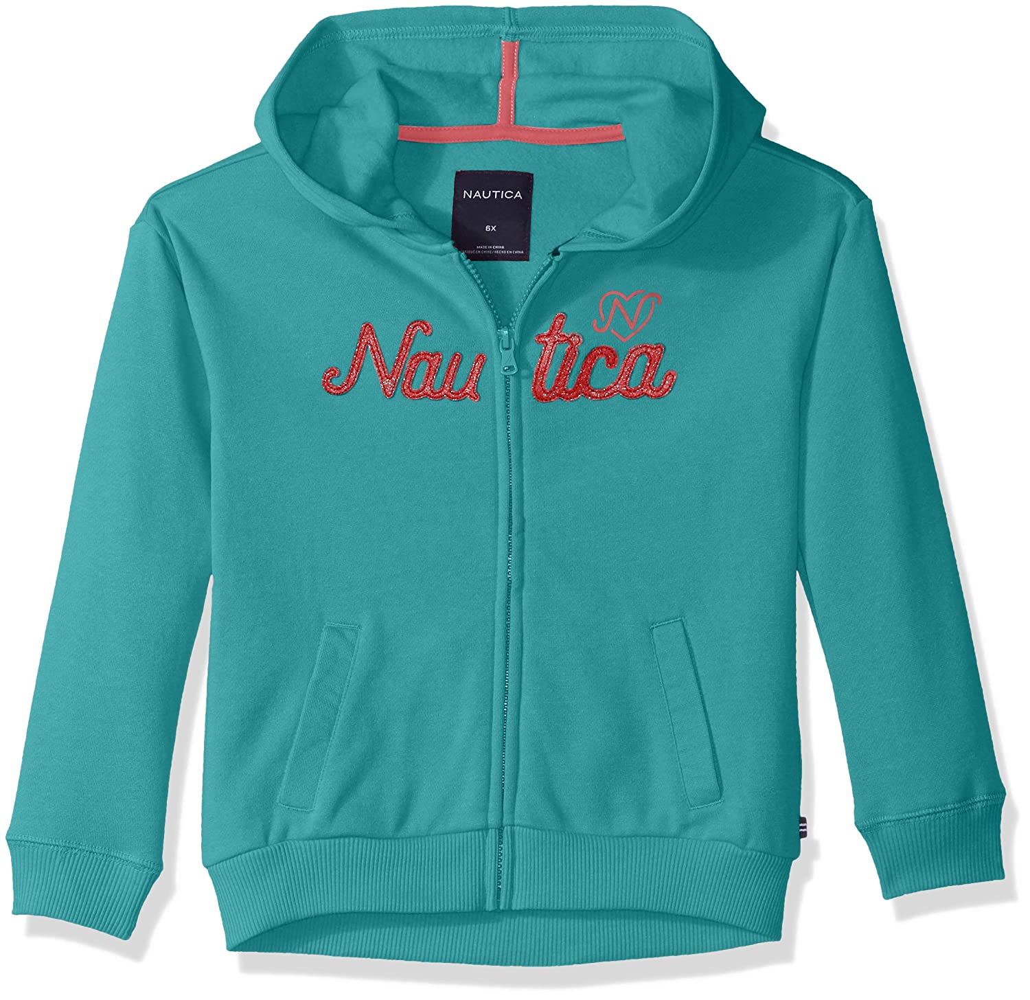 Nautica Girls' Long Sleeve Hoody NBR0013Q