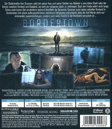 Bordertown Staffel 1 Blu Ray Amazonde Anu Sinisalo Matleena