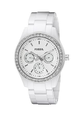 Damenuhren fossil stella  FOSSIL Stella Kalender Damenuhr ES1967: Fossil: Amazon.de: Uhren