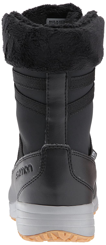 Salomon Women's Heika LTR CS Waterproof Snow Boot B01N0HJTNG 7 B(M) US|Phantom/Black/Alloy