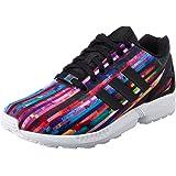 adidas Originals Men's Zx Flux Tengrn, Cblack and Croyal Sneakers