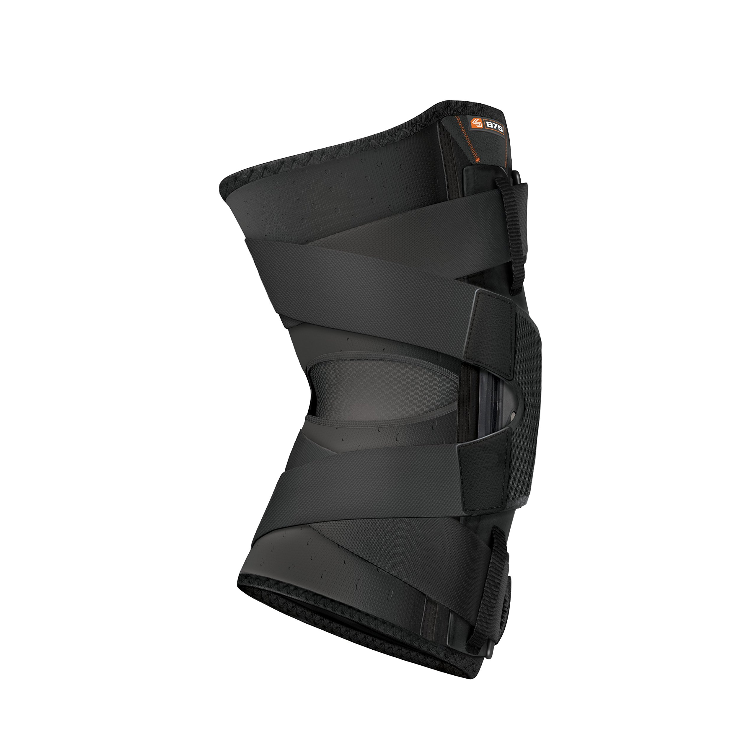 Hinged Knee Brace: Shock Doctor Maximum Support Compression Knee Brace - For ACL/PCL Injuries, Patella Support, Sprains, Hypertension and More for Men and Women - (1 Knee Brace, Large) by Shock Doctor (Image #2)