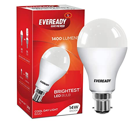 Eveready Base B22d 14 Watt Led Bulb Cool Day Light